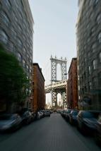 Manhattan Bridge fron Washington Street